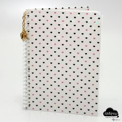 Caderno pautado A5