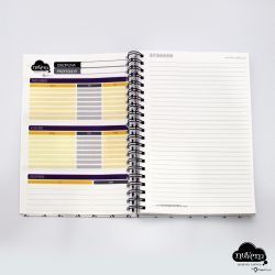 Caderno pautado A4