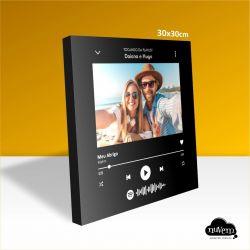 Quadro Spotify 30x30cm
