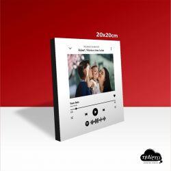 Quadro Spotify 20x20cm